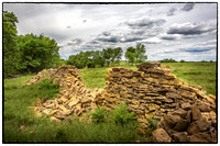 Greenwood County Stone Fence