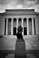 The Thinker at The Nelson Atkins