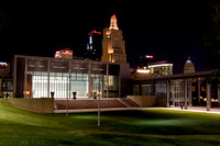 Bartle Hall with KC Skyline