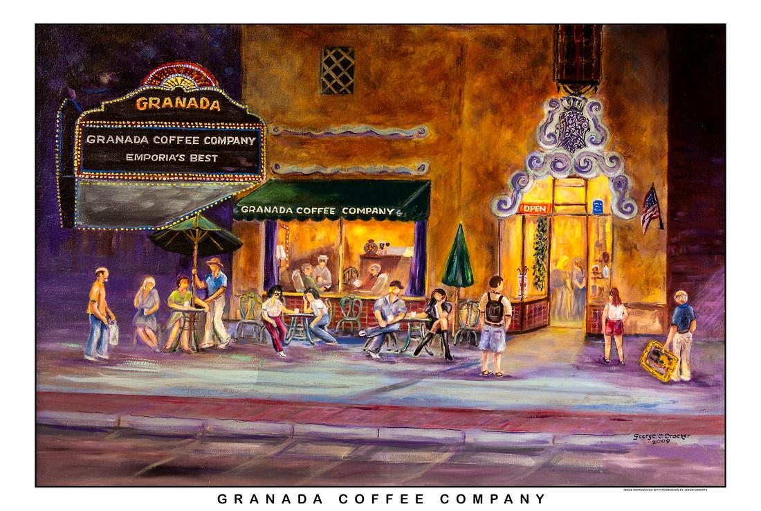 Granada Coffee Company by George Crocker