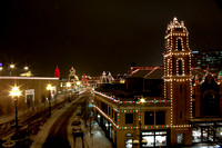 The lights of the Country Club Plaza